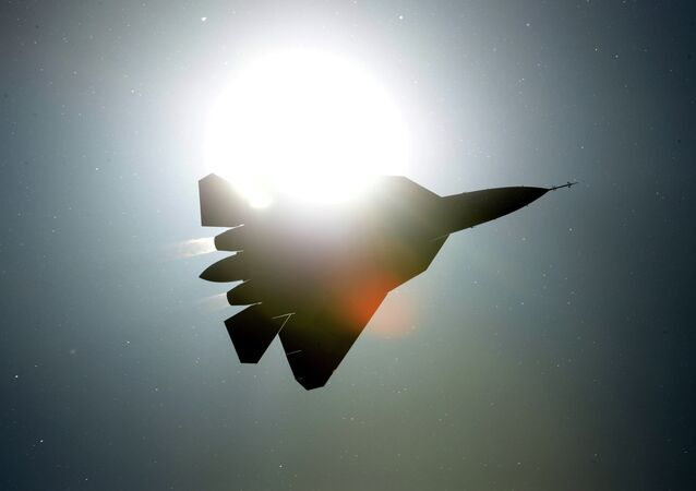 The Sukhoi PAK FA T-50 fifth-generation fighter