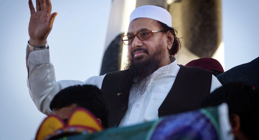 Hafiz Saeed, the leader of Daesh terror group in Afghanistan
