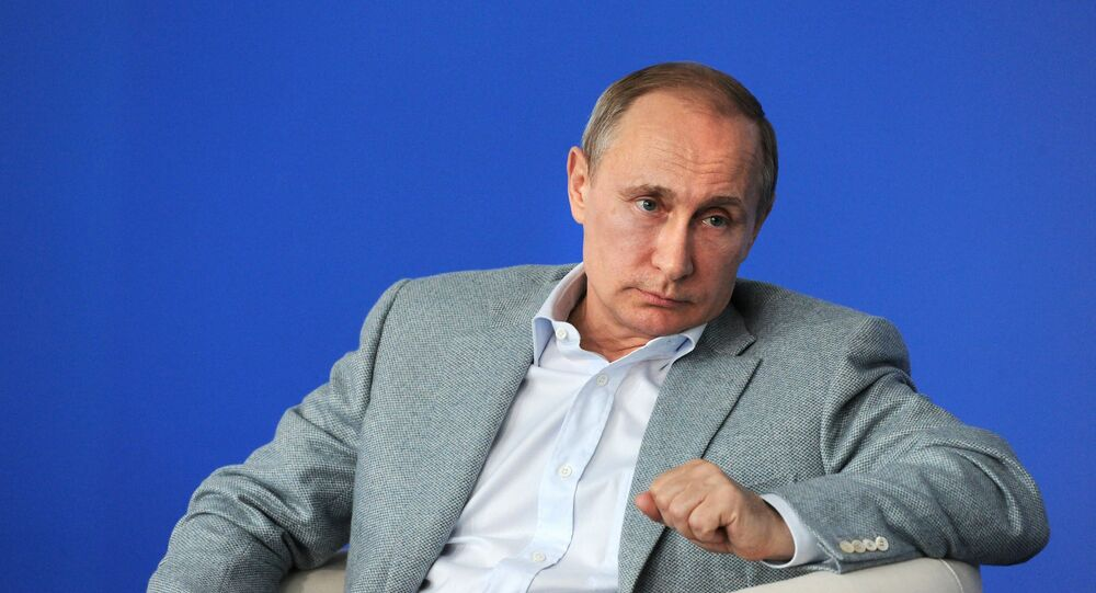 President Vladimir Putin visits Terra Scientia Russian Educational Youth Forum