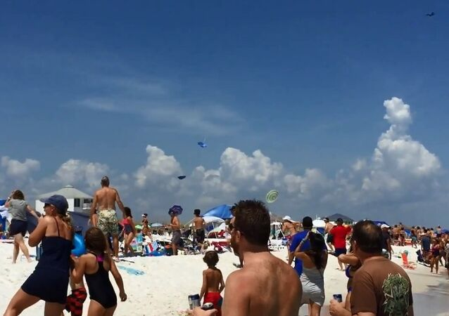 Hold Onto Your Hats! Blue Angels Jet Takes Low Dive