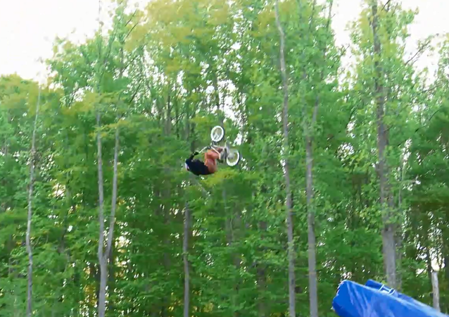 See it to Believe it! First Ever BMX Quadruple Backflip
