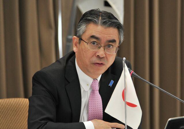 Japan's Deputy Foreign Minister Shinsuke Sugiyama