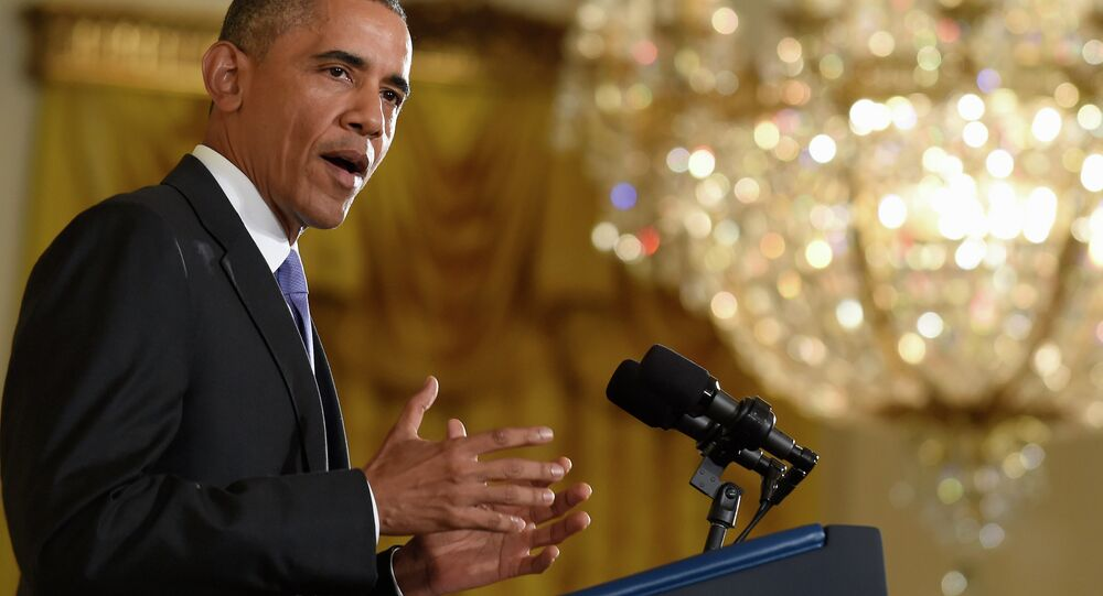 President Barack Obama answers questions about the Iran nuclear deal during a news conference in the East Room of the White House in Washington, Wednesday, July 15, 2015