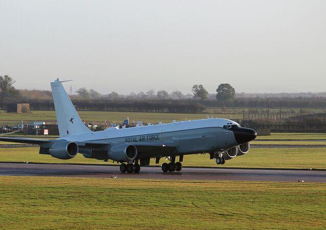 The UK's Rivet Joint surveillance aircraft