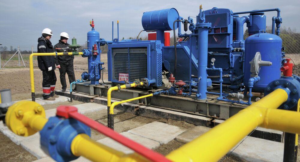 Compression unit of Krekhovskoye natural gas field