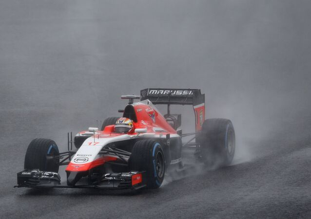 Marussia Formula One driver Jules Bianchi of France drives during the Japanese F1 Grand Prix at the Suzuka Circuit in this October 5, 2014 file photo