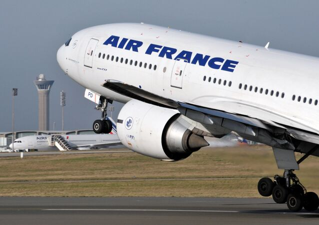 Air France Boeing 777. File photo