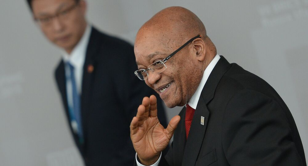 President of the Republic of South Africa Jacob Zuma