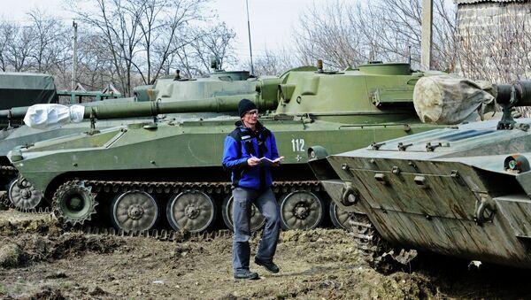 OSCE monitors heavy artillery withdrawal in Donetsk Region - Sputnik International