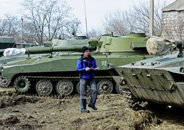 OSCE monitors heavy artillery withdrawal in Donetsk Region