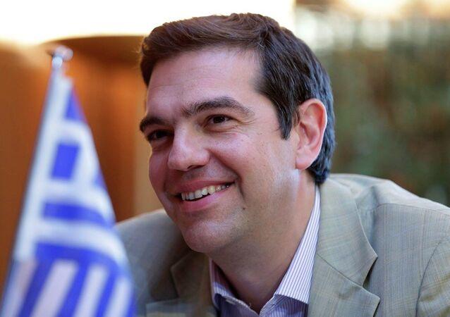 Greece's Prime Minister Alexis Tsipras