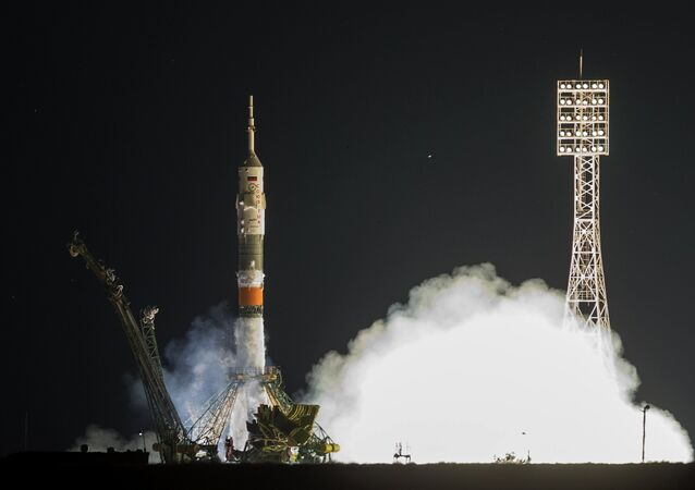 Russia's manned spacecraft Soyuz TMA-18M was launched to the ISS from the Baikonur cosmodrome early Wednesday with the first Danish astronaut aboard.