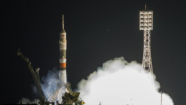 Soyuz TMA-17M spacecraft - Sputnik International