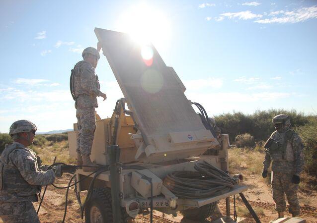 AN/TPQ-36 Firefinder Radar