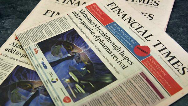 Financial Times - Sputnik International