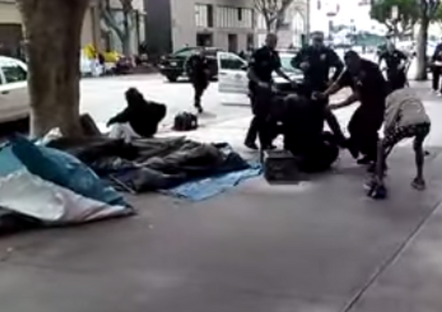 Homeless Woman Faces Life in Prison for Picking Up Dropped LAPD Baton