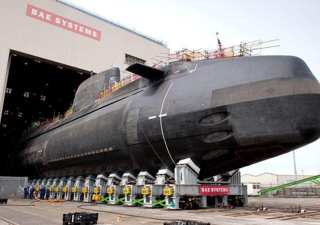 Britain's Astute Class nuclear submarine, built by BAE Systems.
