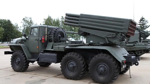 Tornado-G artillery system - Sputnik International