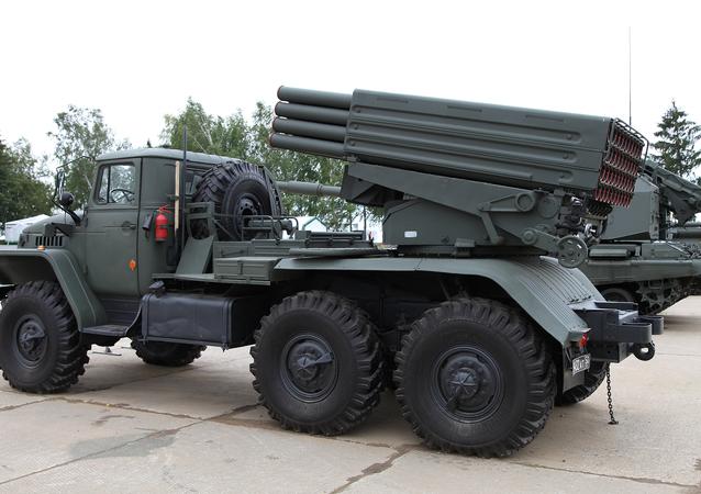Tornado-G artillery system