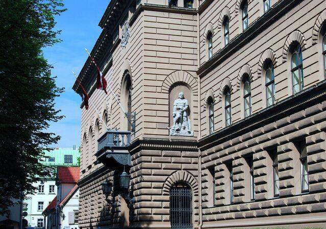 Latvian parliament (the Saeima), Riga.