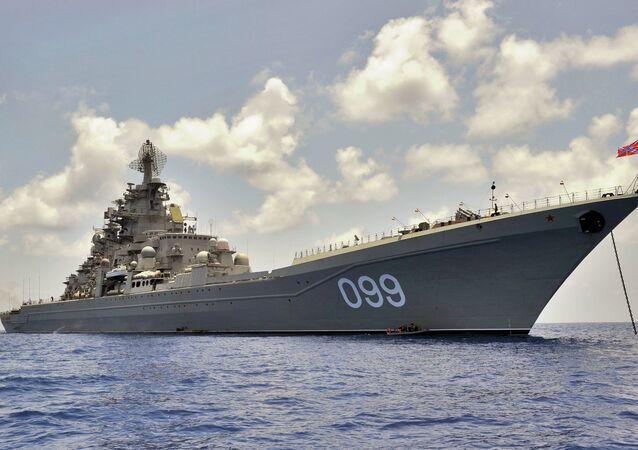 Pyotr Veliky heavy nuclear-powered cruiser