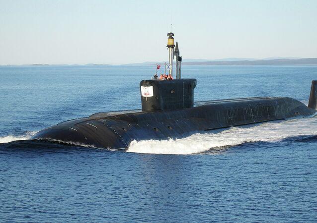 Nuclear submarine (NS) Yuri Dolgoruky