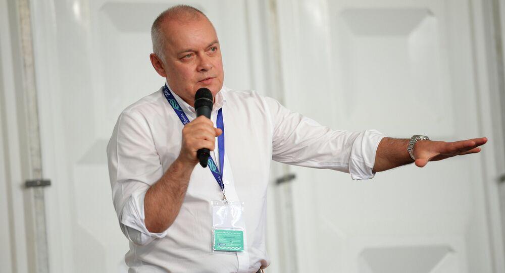 Rossiya Segodnya International Information Agency Director General Dmitry Kiselev