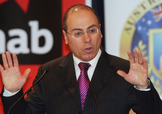 Silvan Shalom, vice prime minister of Israel