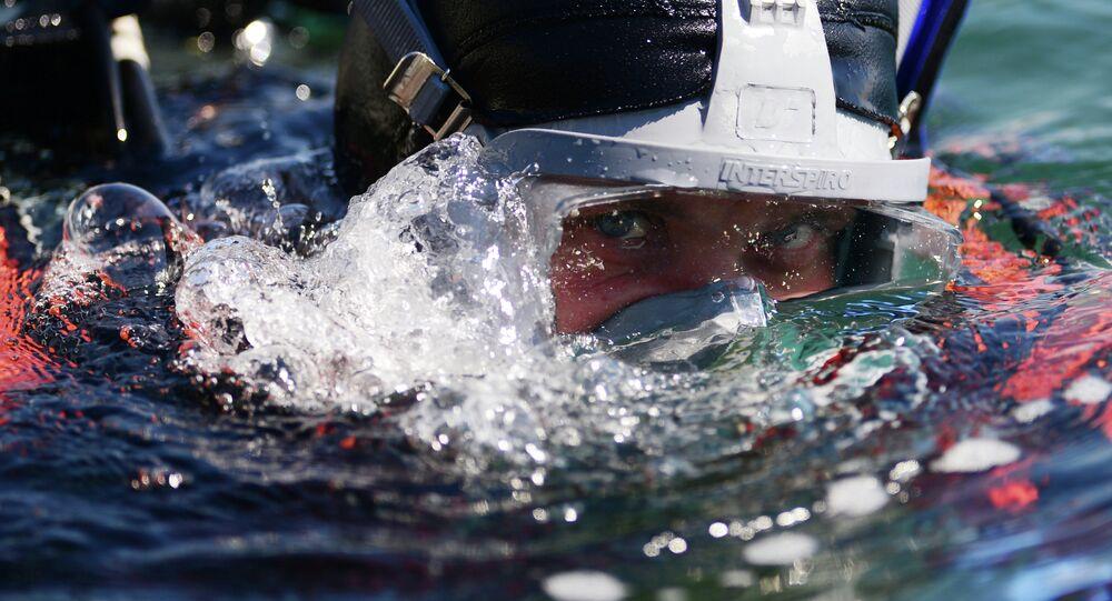 Diver. File photo