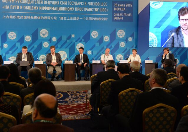 Forum of the Heads of the Leading SCO Media Outlets Towards a Common SCO Information Space