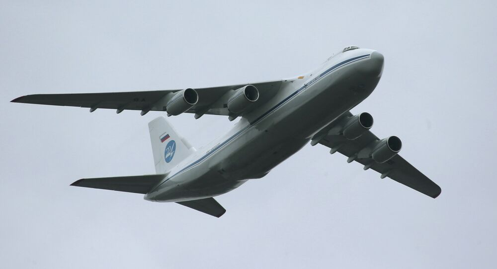Antonov An-124 Condor/Ruslan strategic airlifter