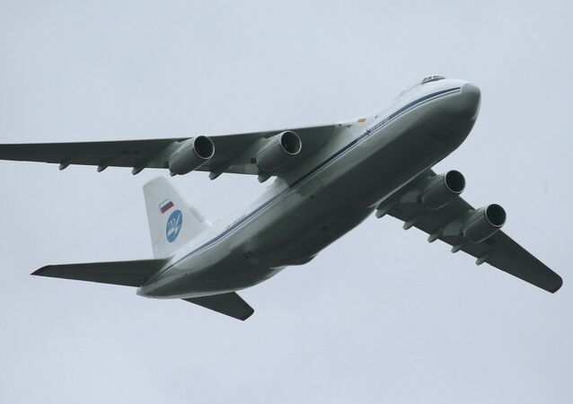 Antonov An-124 Condor/Ruslan strategic airlifter