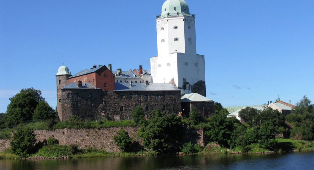 Old fortress in Vyborg
