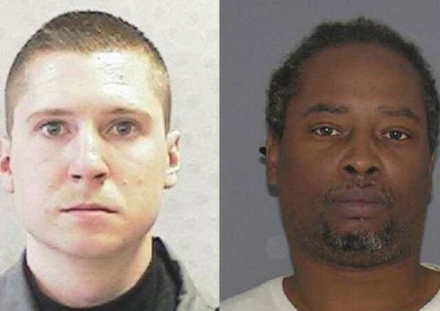 University of Cincinnati police officer Ray Tensing, left, was charged with murder after shooting and killing Sam DuBose during a July 19 traffic stop.