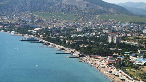 A view of Crimea - Sputnik International