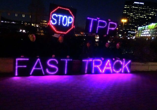 Anti-TPP protest