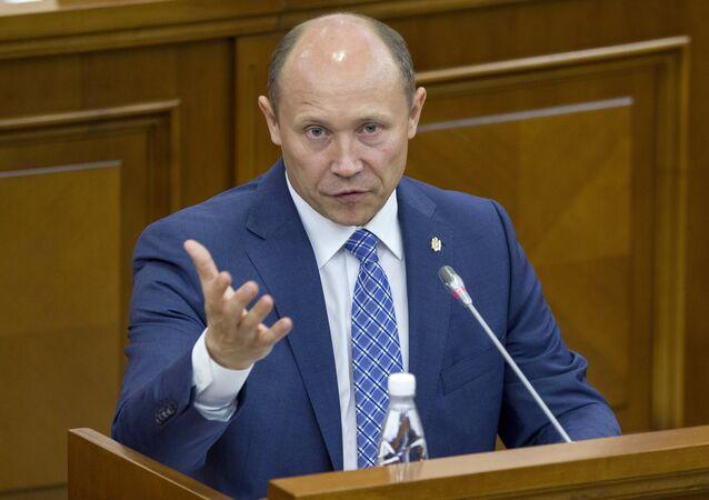 Legislator and businessman Valeriu Strelet