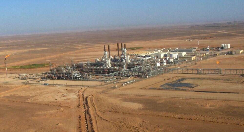 Gas plant, Algeria