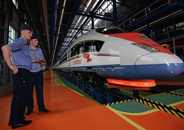 Opening of Moscow Railway Museum and Production Complex