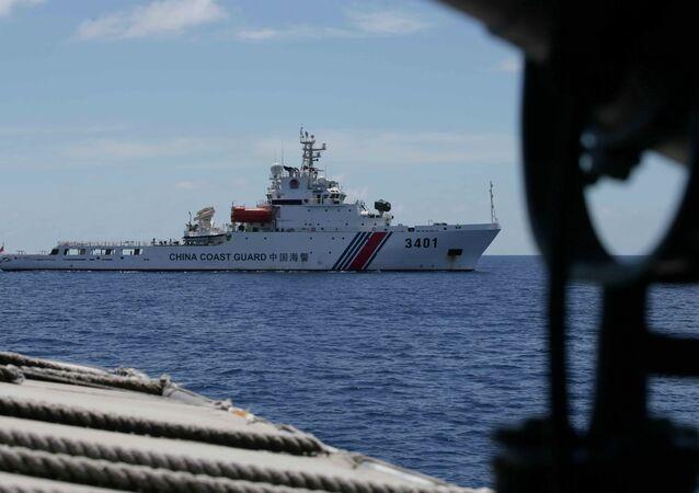 China Coast Guard vessel. File photo