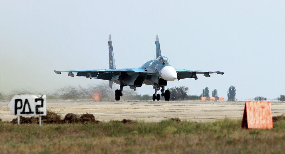 Sukhoi Su-33 multirole air-superiority fighter