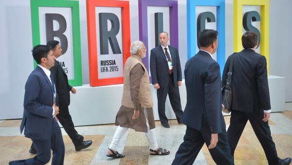 Group photograph of BRICS leaders and the leaders of the invited states - Sputnik International