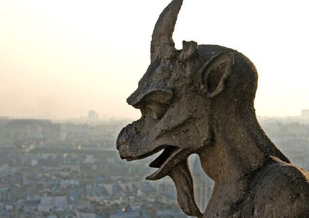 Chimera statue