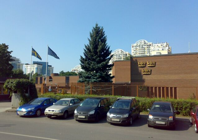 Swedish Embassy in Moscow