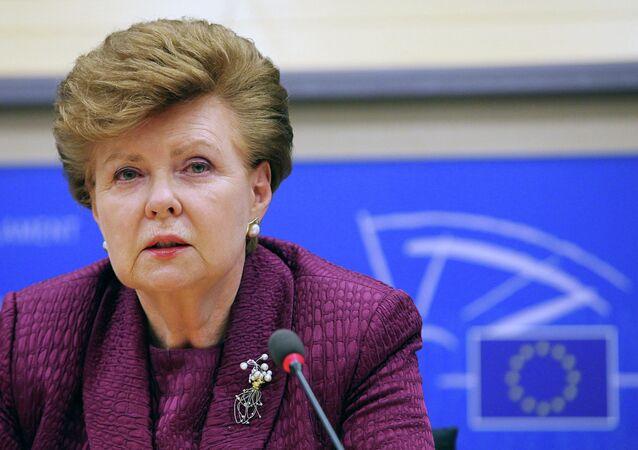 Vaira Vike-Freiberga, former Latvia's President