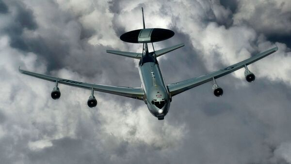 An E-3 Sentry with the US Air Force - Sputnik International