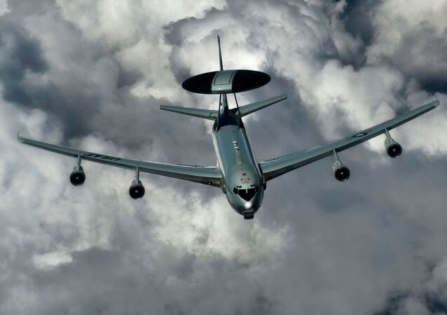 An E-3 Sentry with the US Air Force
