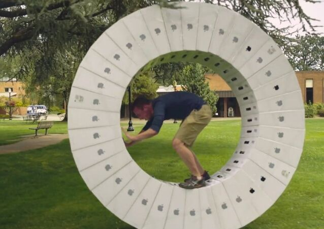 Taking the Giant iMac Wheel for a Spin