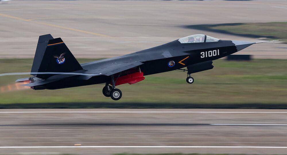 J-31 Stealth Fighter