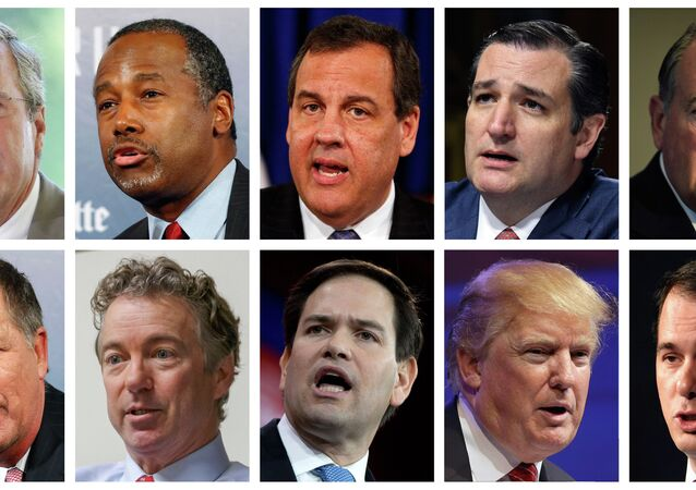 The Republican presidential field